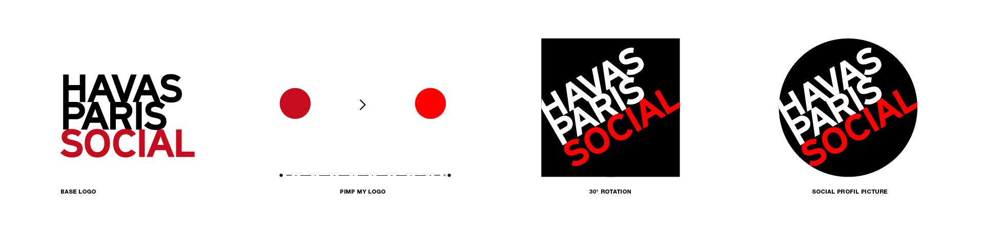 evolution logo Havas Paris Social
